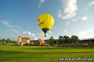 політ на повітряних кулях