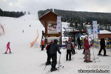 сніг Буковель 2012