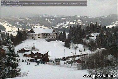 сніг славське 2012
